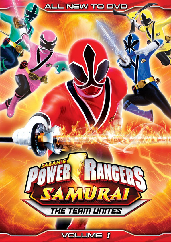 power rangers samurai dvds coming june 19th. Black Bedroom Furniture Sets. Home Design Ideas