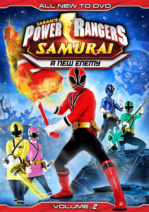 No pink spandex power rangers samurai dvds coming june 19th power rangers samurai the team unites volume one and power rangers samurai a new enemy volume 2 will be released on june 19 2012 but you can voltagebd Images