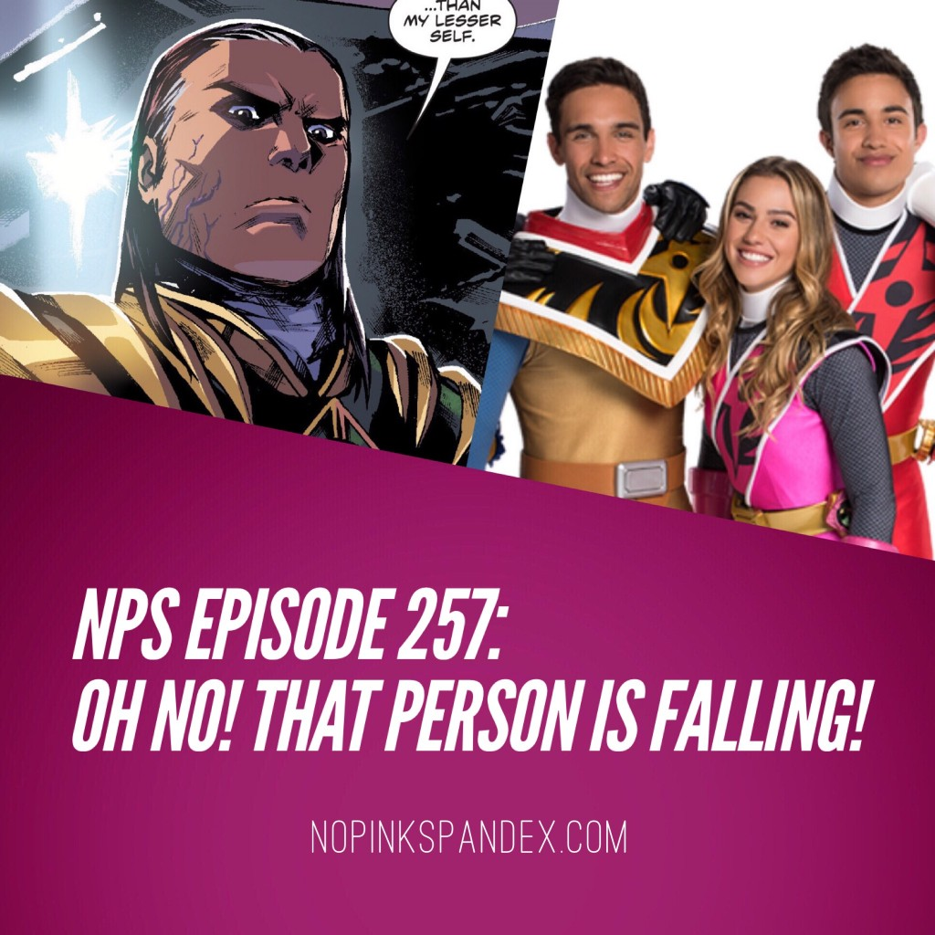 Episode 257: Oh No! That Person Is Falling! No Pink Spandex podcast